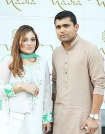 Kamran Akmal Ith His Wife On Iftar & Dinner At Launch Of Nadia Catering's