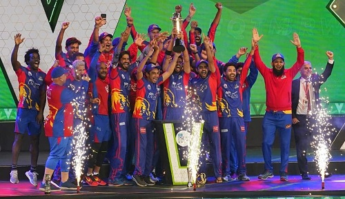 Karachi Kings Won The Title Of HBL PSL 5