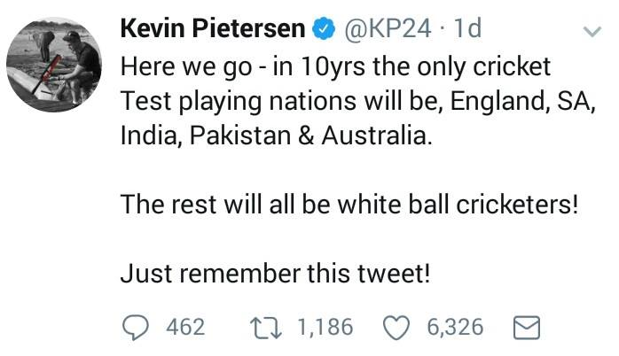 Kevin Pietersen Makes A Bold Claim