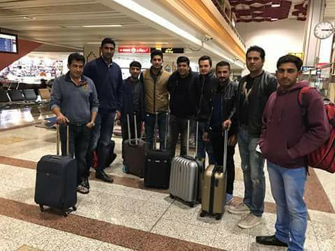 Lahore Qalandars Off To Dubai