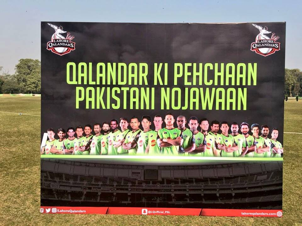Lahore Qalandars Slogan For PSL 3