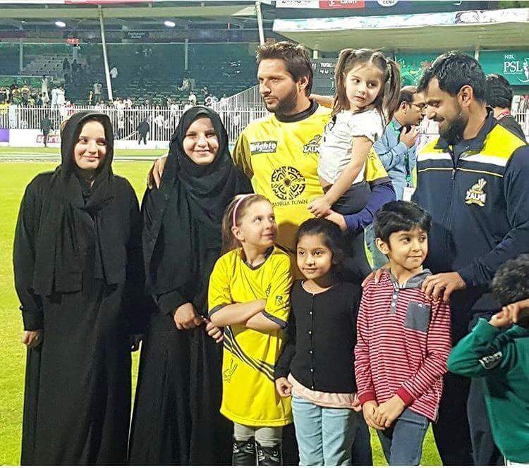 Lala and Hafeez with their families