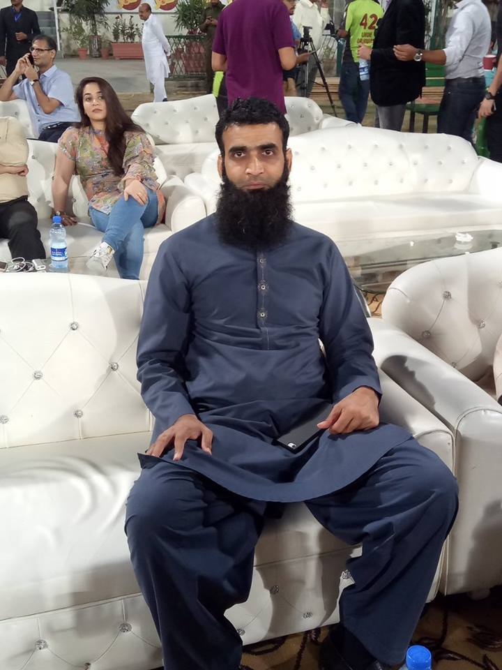 Latest Photo Of Former Pakistani Bowler Rao Iftikhar Anjum
