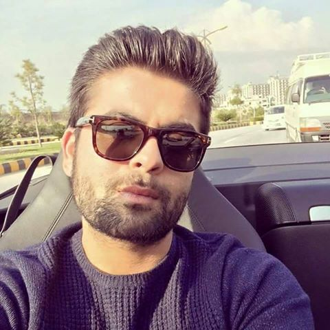 Latest selfie of Ahmed Shahzad