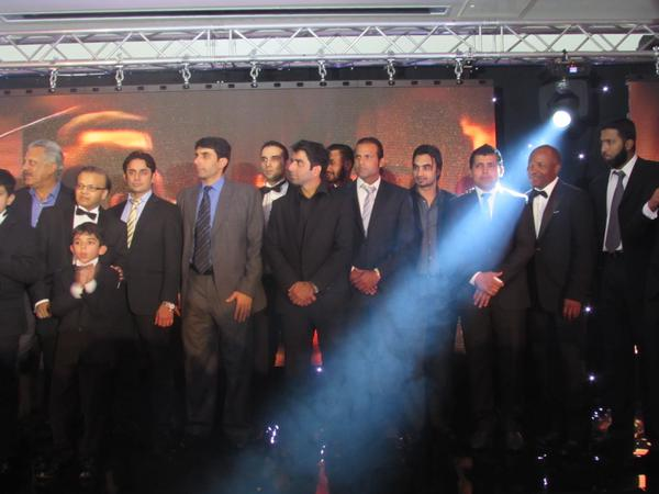 Launch Of Saeed Ajmal International Cricket Academy