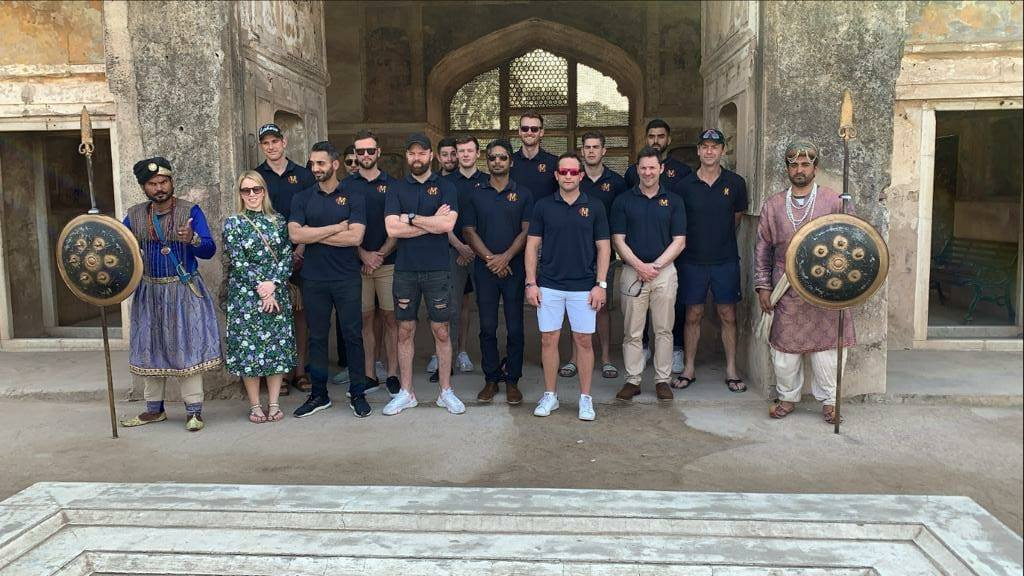 MCC Squad Today Visited Lahore Fort