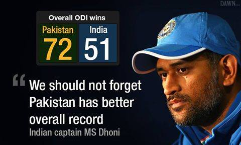MS Dhoni Comments After Defeat Pakistan In Match