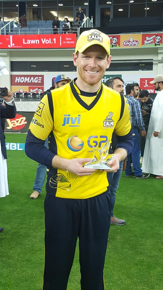 Man Of The Match Eoin Morgan
