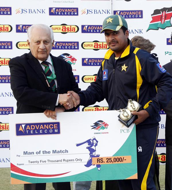 Man of the Match Sharjeel Khan