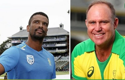 Matthew Hayden And Vernon Philander Were Announced As The Coaches For The World T20
