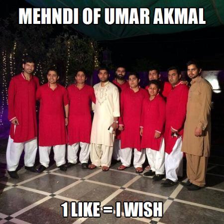 Mehandi Of Umer Akmal