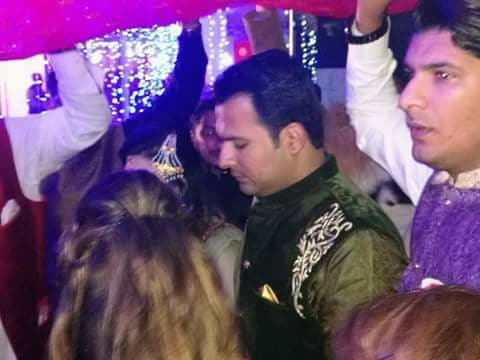 Mehndi Pictures Of Cricketer Sharjeel Khan In Bahawalpur
