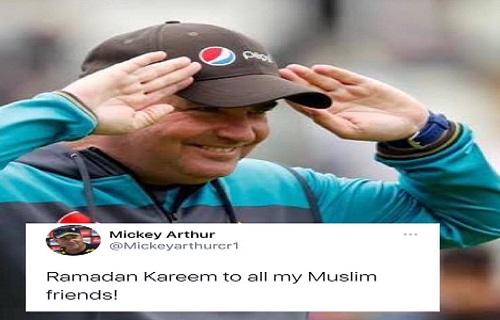 Micky Arthur Wishes Ramadan Ul Mubarak