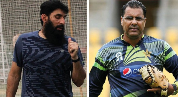 Misbah Named Pakistan Head Coach And Chief Selector, Waqar Younis Appointed Bowling Coach