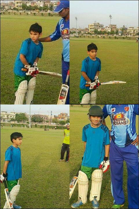 Misbah Son Faham Is Future Cricketer