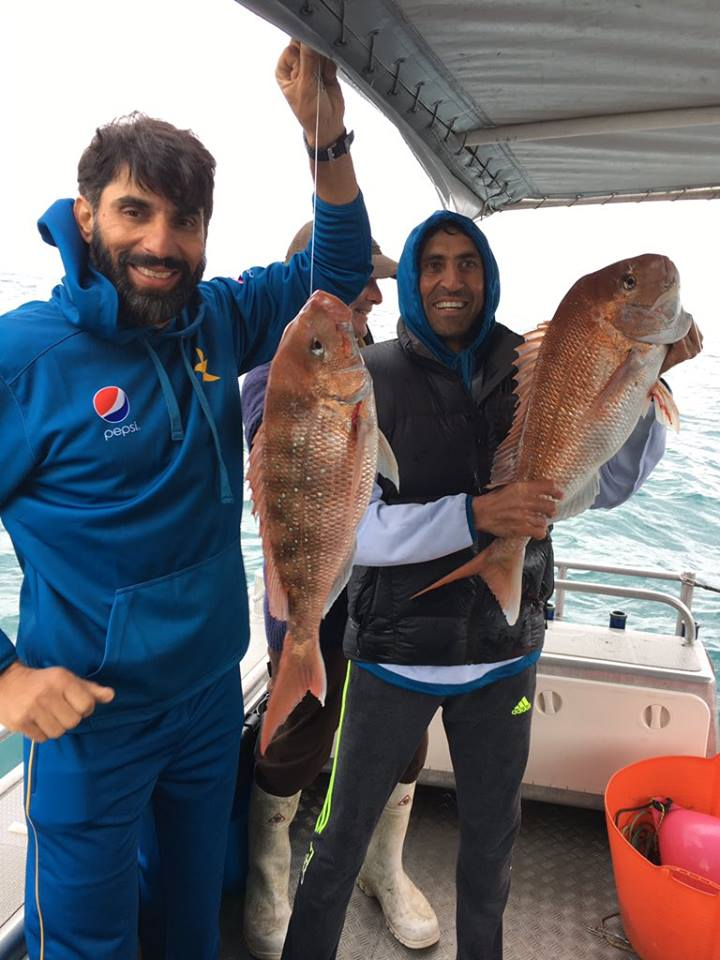 Misbah & Younis Are Catching Fishes