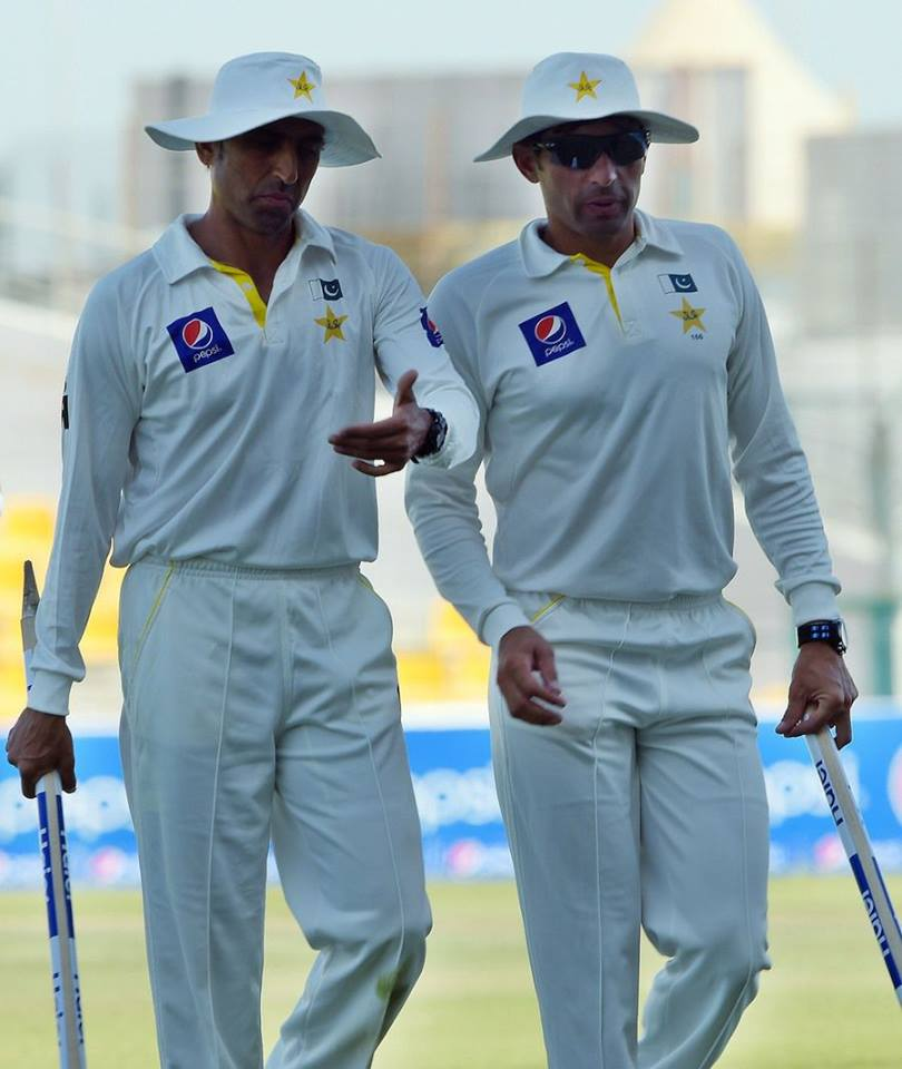 Misbah & Younis Are Named Among Five Wisden Cricketers Of This Year