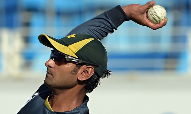 Mohammad Hafeez Action Found Illegal