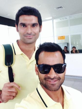Mohammad Hafeez And Mohammad Irfan