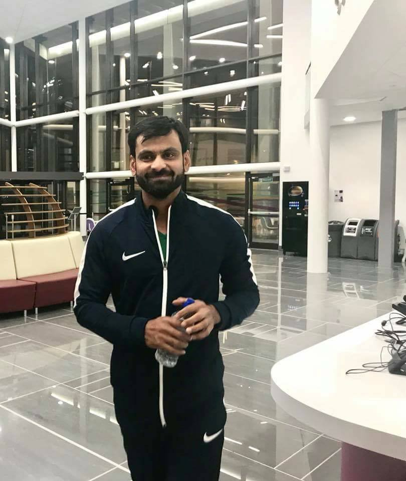 Mohammad Hafeez Is In Loughborough University For His Bowling Action Test