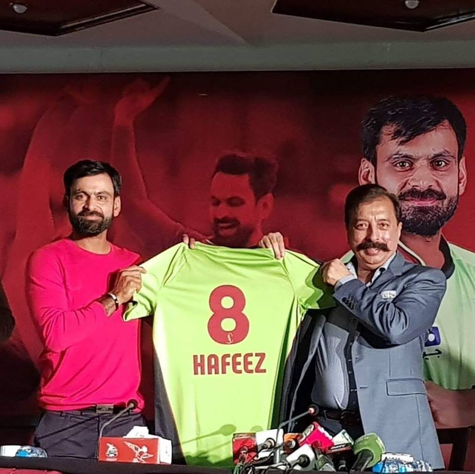Mohammad Hafeez To Lead Lahore Qalandars In PSL 4