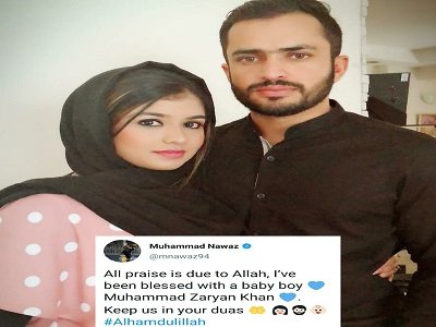 Mohammad Nawaz Blessed With A Baby Boy