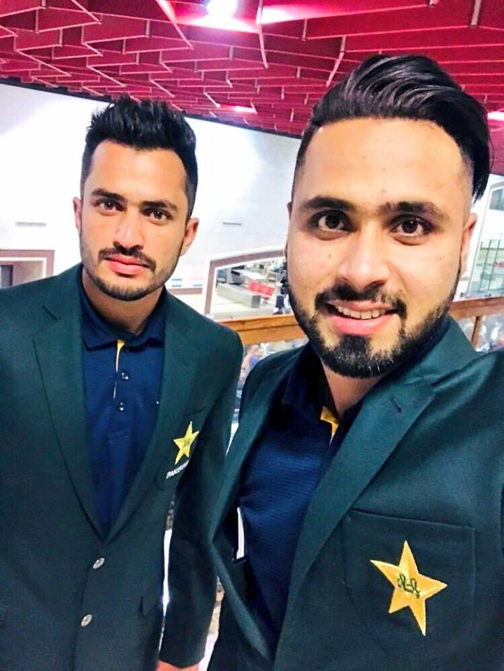 Mohammad Nawaz & Faheem Ashraf Before Leaving For New Zealand Tour