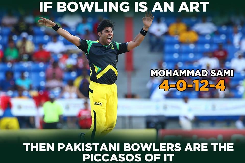 Mohammad Sami's 4 Wickets Haul