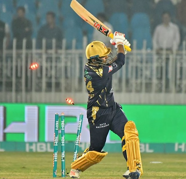 Moment Of The Match, Zalmi Captain Takes A Wicket Of Gladiators Captain