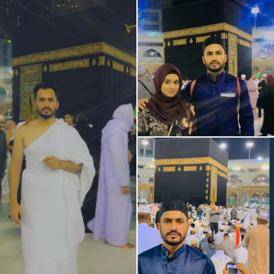 Mr And Mrs. Mohammad Nawaz Has Performed Umrah