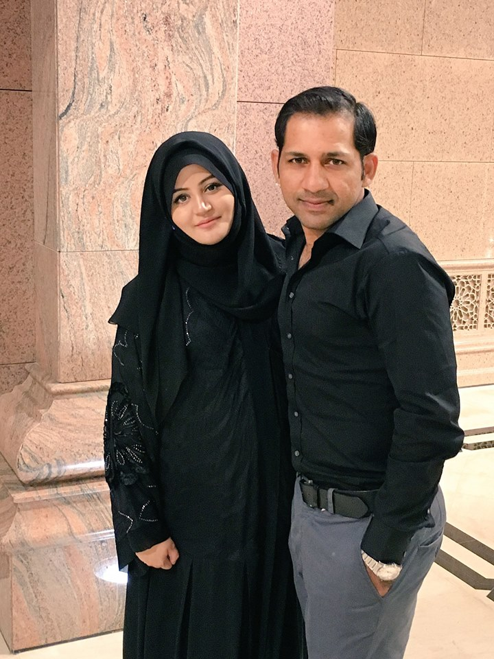 Mr And Mrs Sarfraz Ahmed