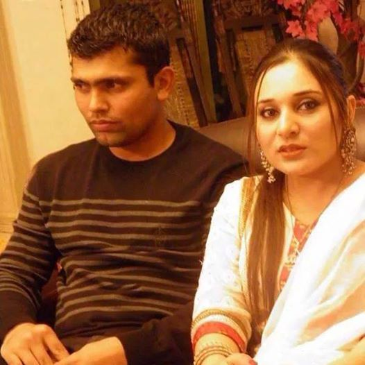 Mr and Mrs Kamran Akmal