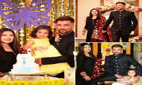 Mr. & Mrs.Mohammad Amir Celebrated Birthday Of Her Daughter Minsa Amir