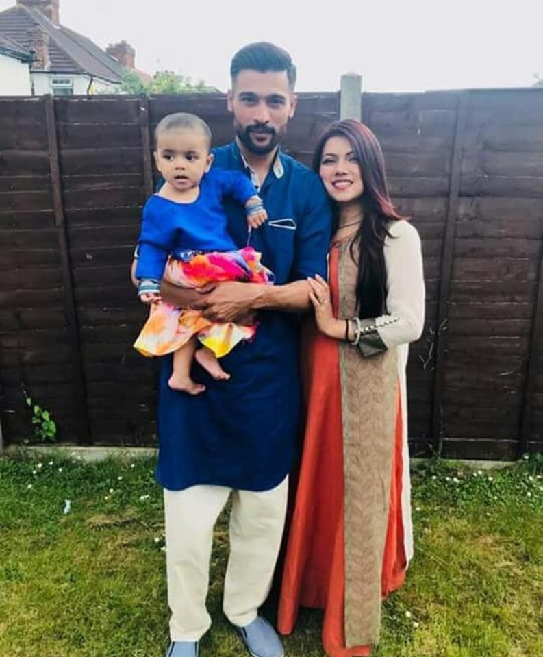 Muhammad Amir Celebrates Eid With His Family