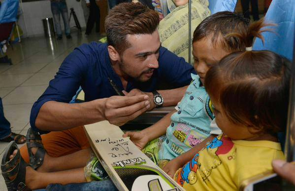 Muhammad Amir at Fatimid Foundation in Lahore