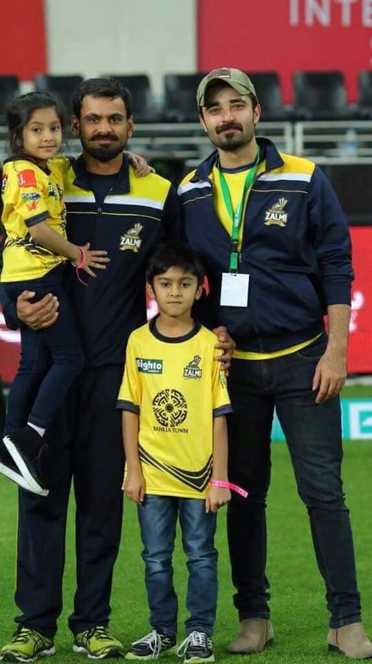 Muhammad Hafeez and Hamza Ali Abbasi In PSL