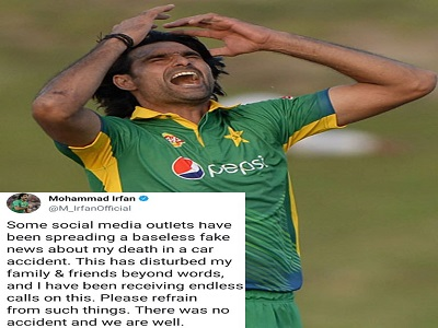 Muhammad Irfan Turns Down All Fake News Regarding His Death In A Car Accident