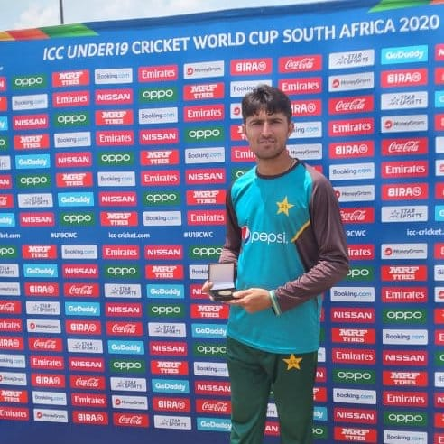 Muhammad Waseem Is Man Of The Match In First Match Of U-19 CWC