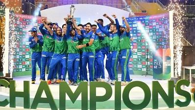 Multan Sultan Won The Title Of PSL 6