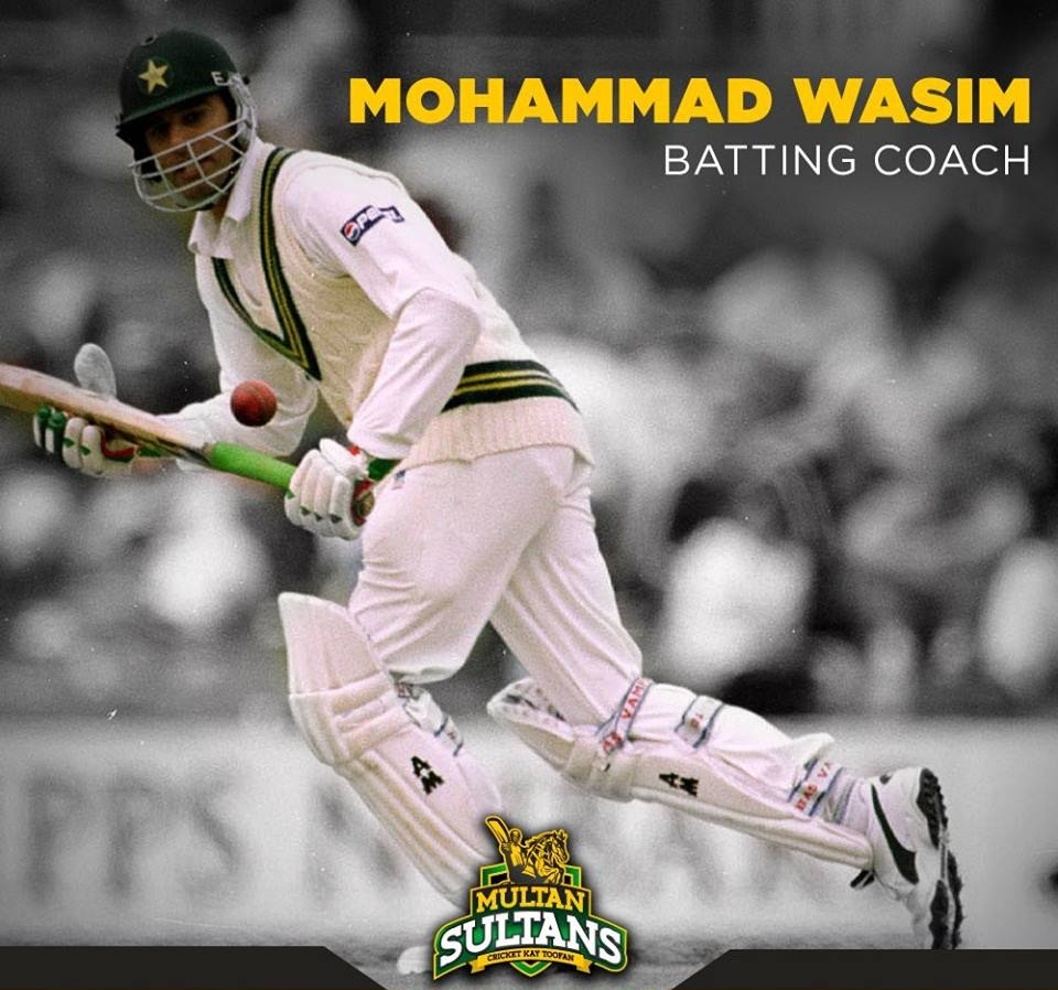 Multan Sultans Appoints Mohammad Wasim As A Batting Coach