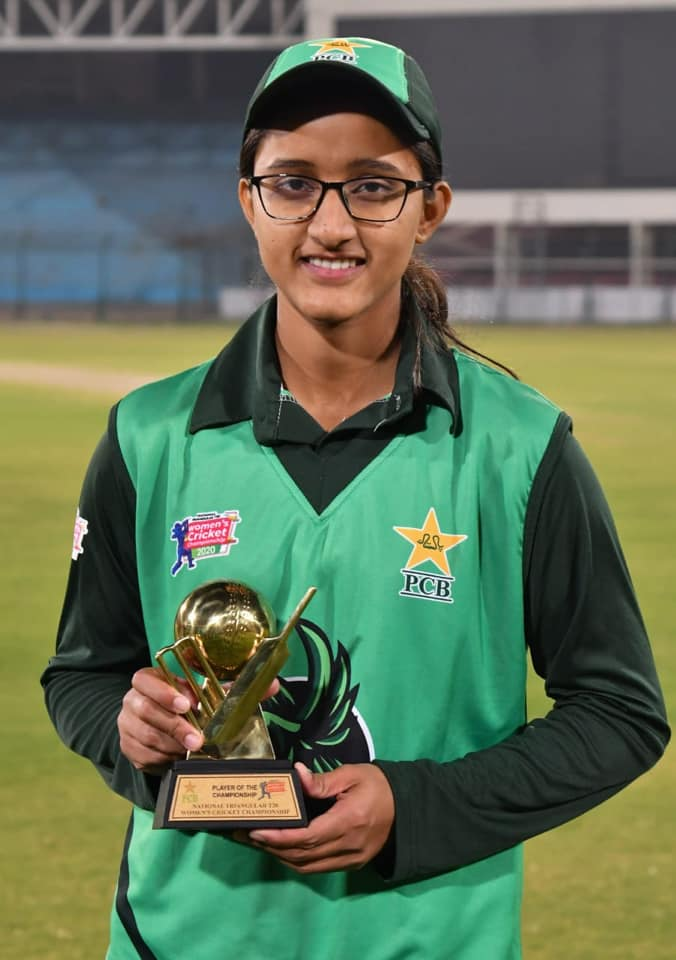 Muneeba Ali Got Player Of The Tournament Award Of Women T20 2020