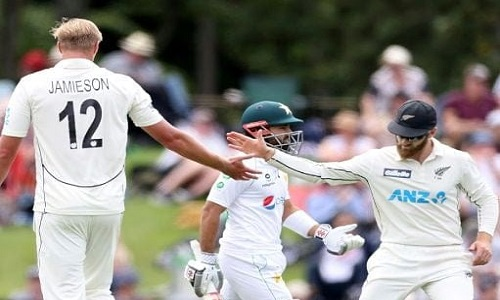 New Zealand Beats Pakistan By Innings And 176 Runs At Christchurch