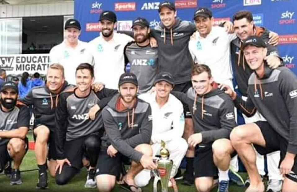 New Zealand White Washed India In Test Series