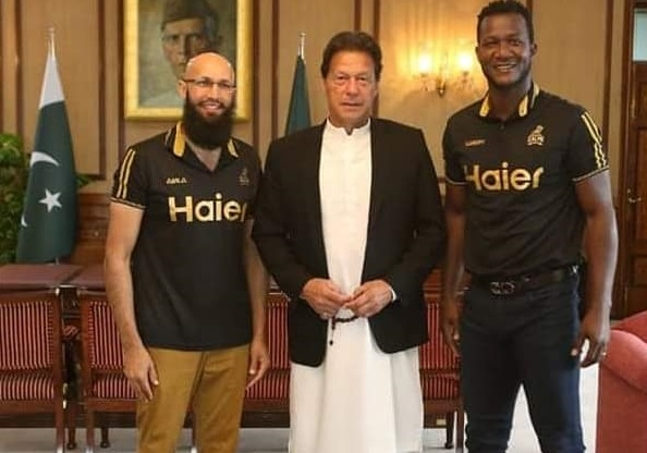 PM Imran Khan Meets Zalmi