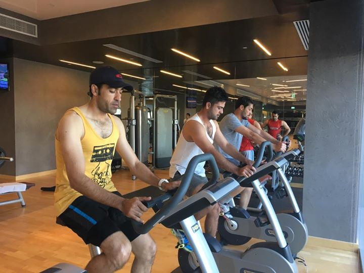 PSL Players Doing Gym Training - Quetta Gladiators