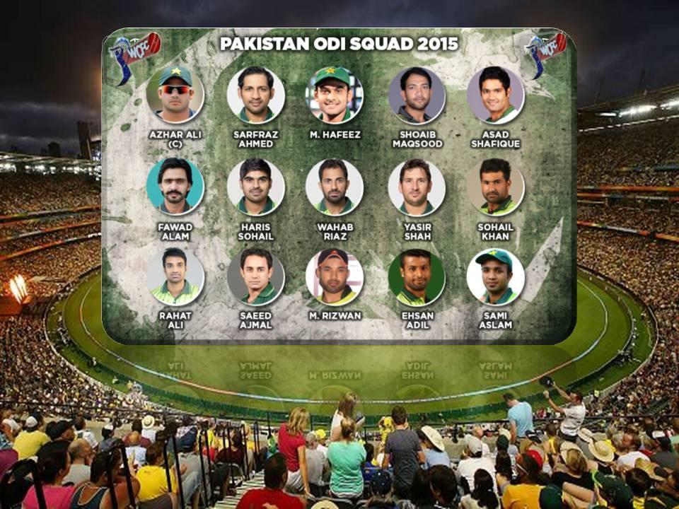 Pakistan Announces ODI Squad For Bangladesh Tour