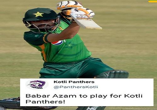 Pakistan Captain Babar Azam Will Play For Kotli Panthers