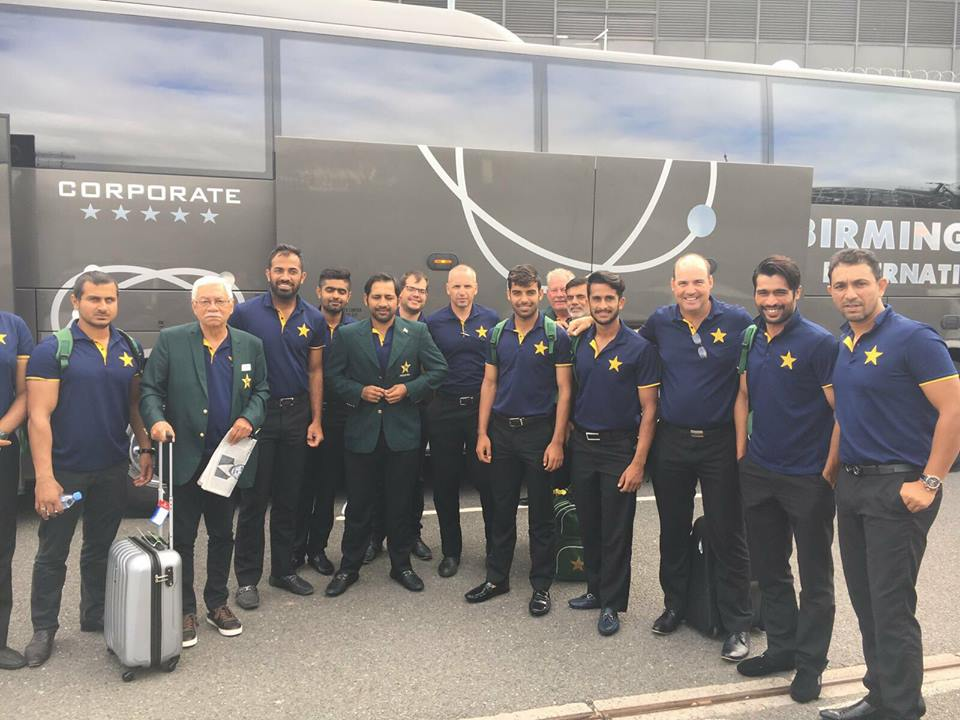 Pakistan Cricket Team Arrived In England For Champions Trophy