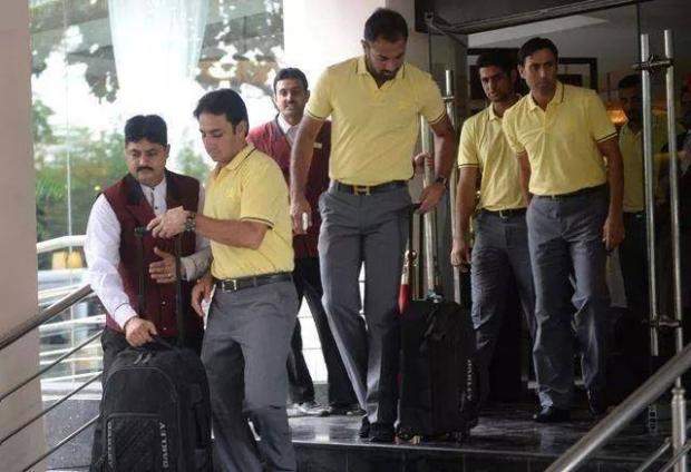 Pakistan Cricket Team Leaving For Sri Lanka