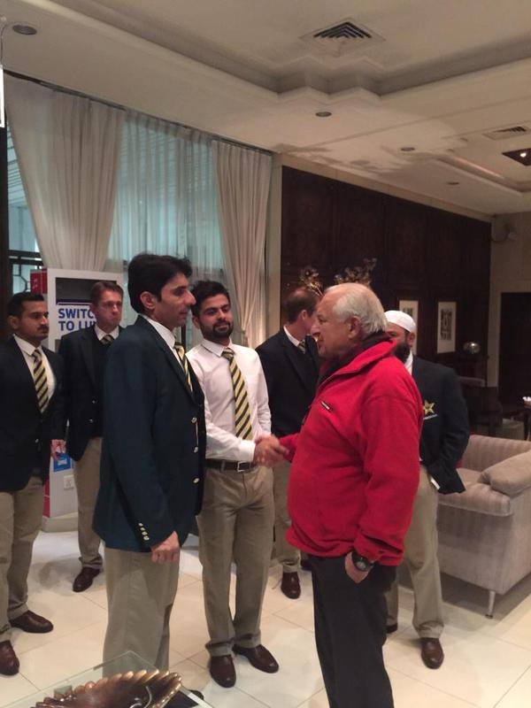 Pakistan Cricket Team Met Chairman Shahryar Khan Before Going For WC